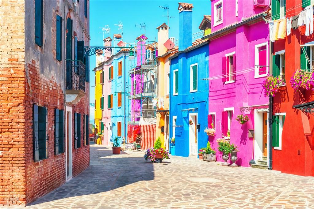 Benátské ostrovy s koupáním -