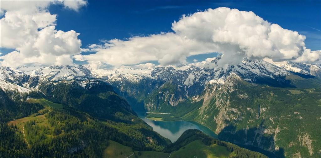 Hitlerovo Orlí hnízdo a jezero Königssee -