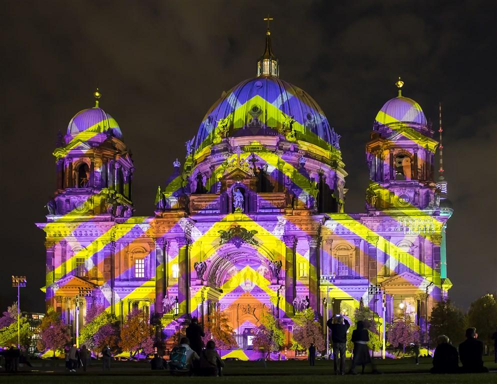 Berlín a úchvatný festival světel -