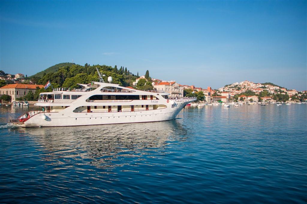 Plavba - Ostrovy Dalmácie -