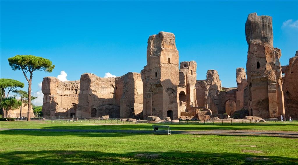Řím a Tivoli – z běžného života Římanů a jejich dovolené… -