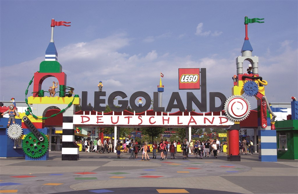 Legoland - autobusem -