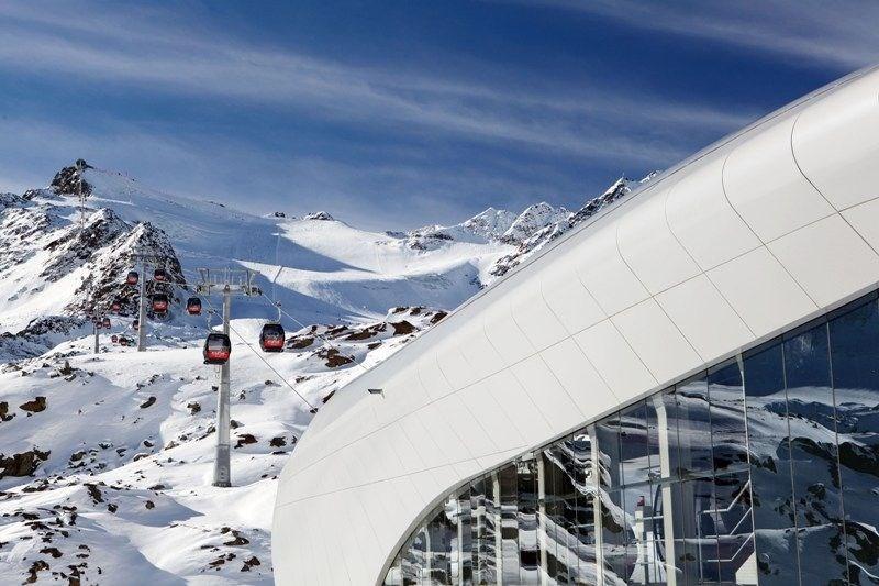 Pitztal - lyžování na ledovci -