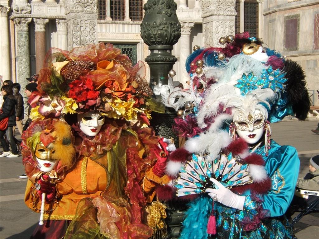 Karneval v Benátkách -