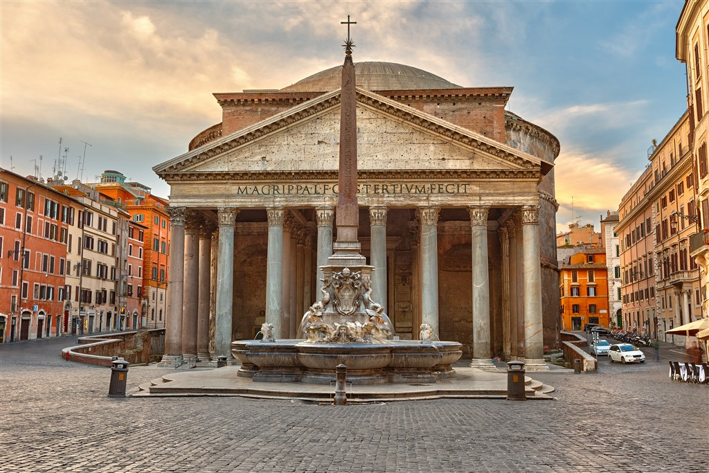Řím, Florencie, Pisa, Verona -