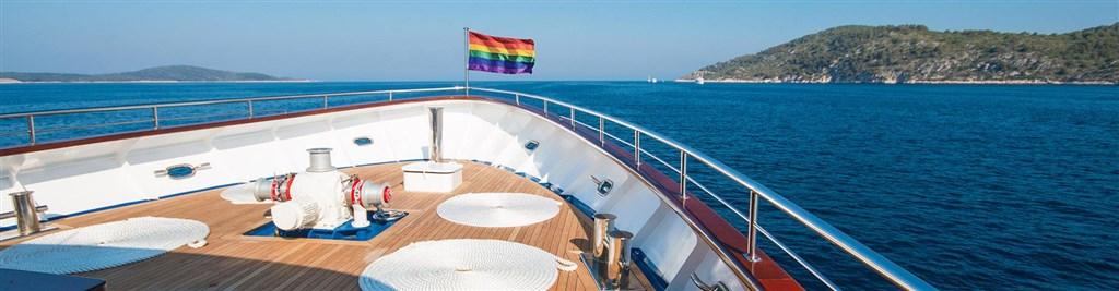 Gay plavba Deluxe po Jadranu -